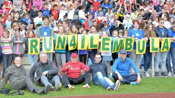 Run4Ilembula Schupa-Tansania Läufer und Organisatoren