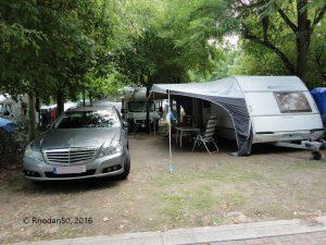 Mein Wohnwagen Eifelland Holiday Wohnwagen