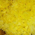 Leberknödel Zubereitung, Zitronenschale