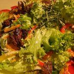 Gut Keferloh - Salat mit Putenfiletstreifen