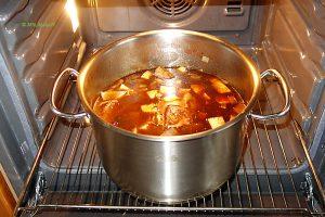 Böfflamott - ab in den Ofen bei 160°
