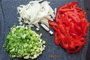 Penne ganz simpel mit Karotten und Paprika