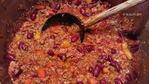 Best Chili con Carne, nur Petersilie fehlt noch