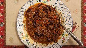 Best Chili con Carne, fertig auf dem Tisch