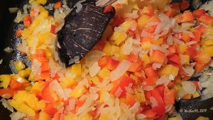 Best Chili con Carne, Zwiebel und Paprika