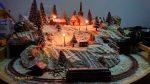Winterlandschaft Märklin Spur Z Dämmerung