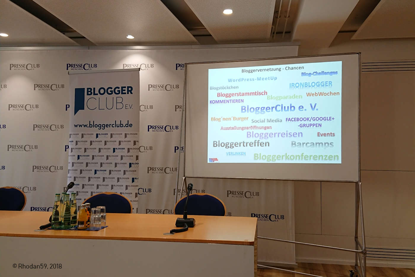 Bloggerclub München Diskussion Vernetzung