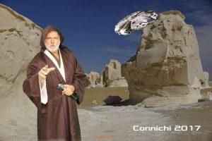 Foto Connichi 2017 mit Hintergrund Ben weisse Wüste
