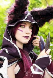 Rhyme-gy als Xayah aus League of Legends