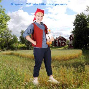 Cosplay Rhyme_GY als Nils Holgerson