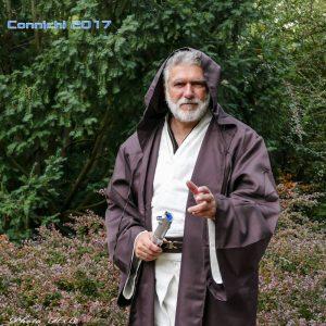 Die erste Connichi 2017 als Ben Kenobi