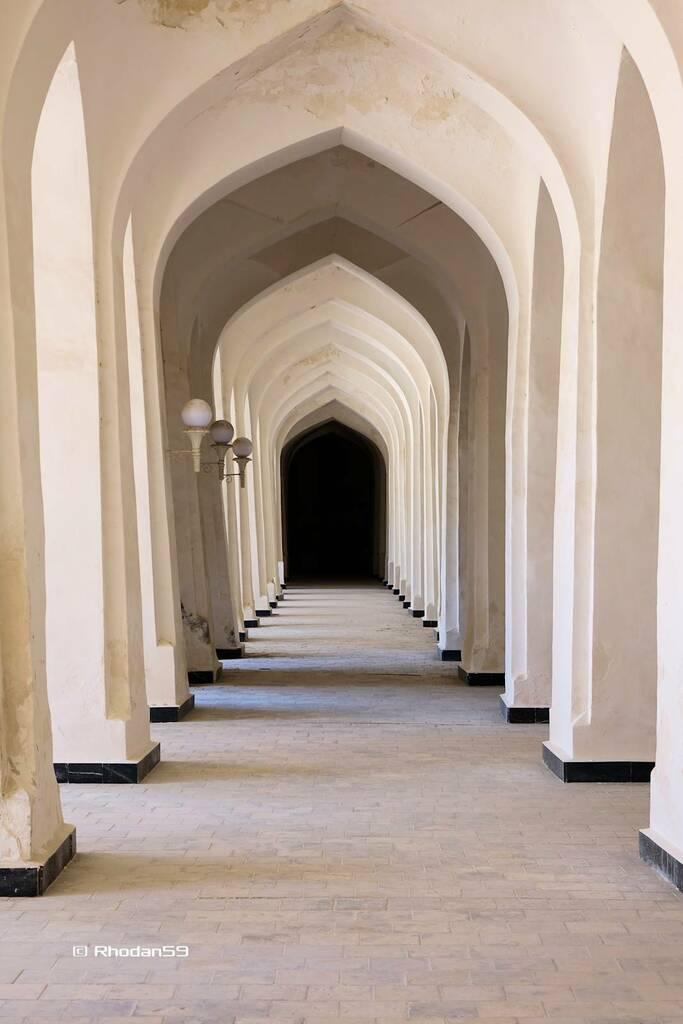 Gang in der Kalyan Moschee